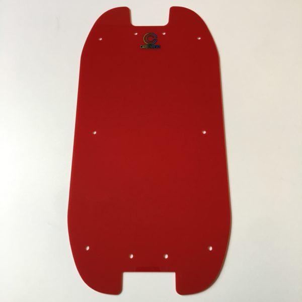 doublure de deck Carbonrevo rouge