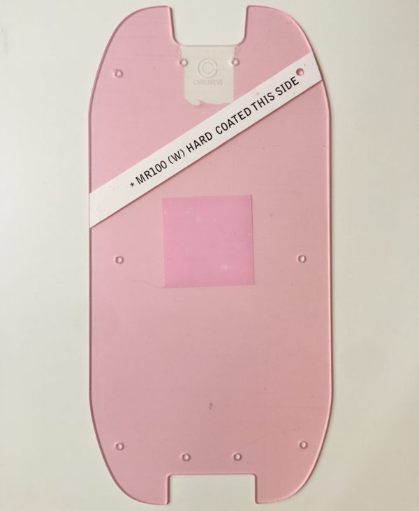 deck cover transparent