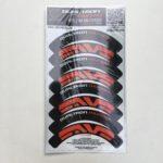 stickers de jantes Carbonrevo pour thunder