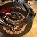leche roue hugger V2 dualtron