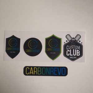Stickers lèche-roue carbonrevo