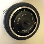 roue complete avec moteur pour leger